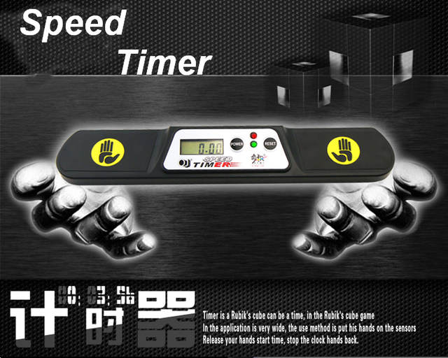 US $19 5 |Speed cube Timer Clock Speedcubing Cup for PC and External  Display competition game sport toys cube related-in Magic Cubes from Toys &