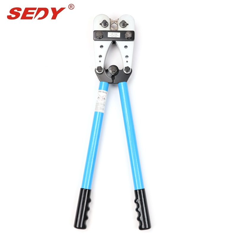 Heavy Duty 10-120 mm Cable Crimping Crimper Tool Battery Rotatable Lug Crimper dwz new 6 50mm lx 50b wire terminal crimper tool cable lug crimping plier connector