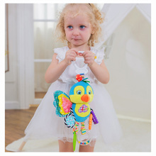 Newborn Baby Stroller Hanging Toy for baby gym Plush Animal Rattle Bed Bell Infant Baby Comfort Toy