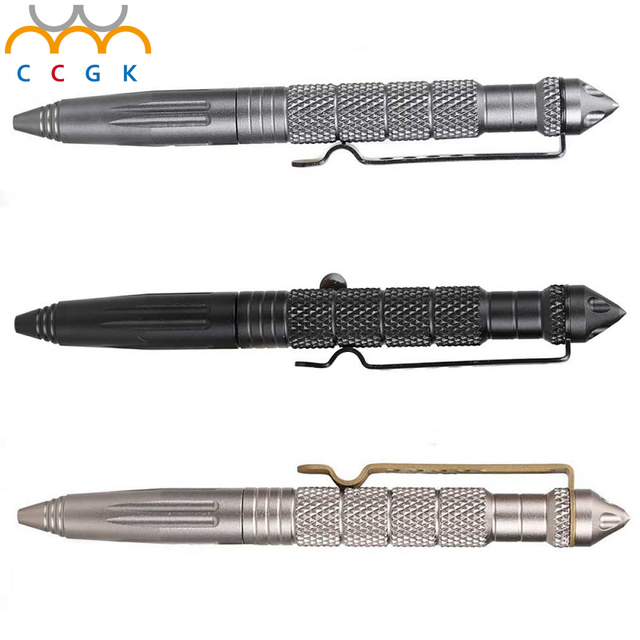Self defense tactical pen tactico militar personal defense EDC portable pen aviation aluminum alloy auto defesa B2 weapons