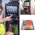 Organizador do carro criança carro ipad pendurado transparente saco do presente sacos de malha elástica portátil de armazenamento de brinquedos saco de carro de volta organizador do assento