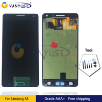 100 Tested Original Super Amoled LCD Screen Touch Digitizer Assembly For Samsung A5 A500 Lcd Display