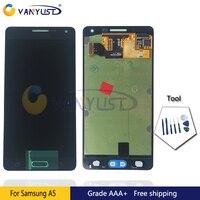100% Test Orijinal Süper Amoled LCD Ekran Dokunmatik Digitizer Meclisi Samsung A5 A500 Lcd Ekran Yedek Ücretsiz Hediye
