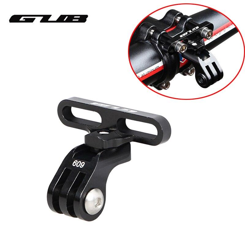 GUB 609 Aluminum Alloy Bike Holder Adapter for GoPro Camera Flashlight Bike Stem