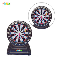 Commercial Inflatable Football Soccer Dart Board Game Bouncer for Sale