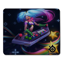 Hot High Quality League of Legends Games Goddess Sona Buvelle DIY Custom Mouse Pad Tablet Computer Game