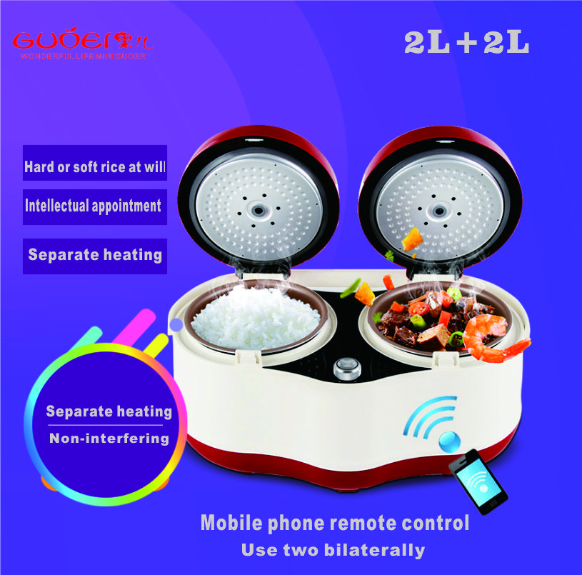 Smart Electric Rice Cooker 4L alloy IH Heating pressure cooker home appliances for kitchen Smartphone APP WiFi Control rice cooker parts open cap button cfxb30ya6 05