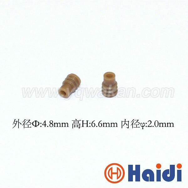 Бесплатная Доставка 100 шт. автомобильный разъем резиновое уплотнение HDY9006 провода уплотнения для авто разъем