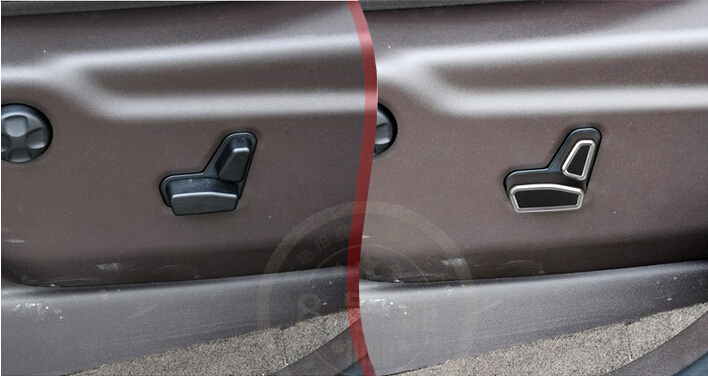 Chromed Seat Height Switch Adjustment Handle Cover Pcs For Jeep Grand Cherokee on 2011 Jeep Grand Cherokee Door Lock Actuator