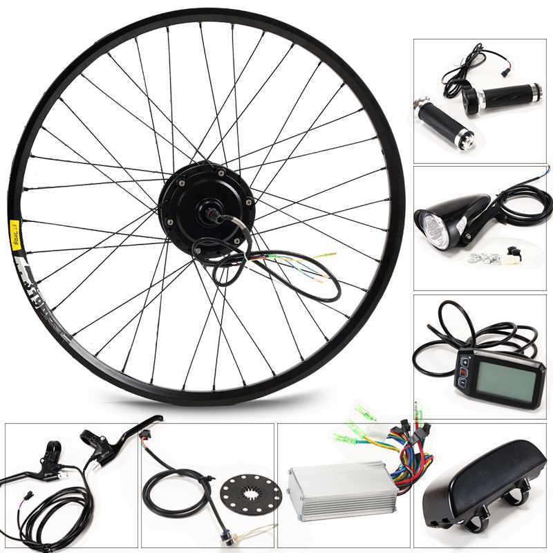 CASDONA Elektrische bike set 36 V 8/10/13 AH wasserkocher batterie E bike conversion kit mit 350 W motor bicicleta kostenloser versand bike