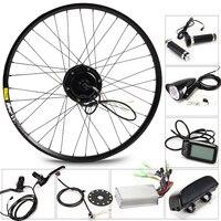 LOVAGE Electric bike set 36V 8/10 / 13AH kettle battery Ebike conversion kit with 350W motor bicicleta free shipping bike