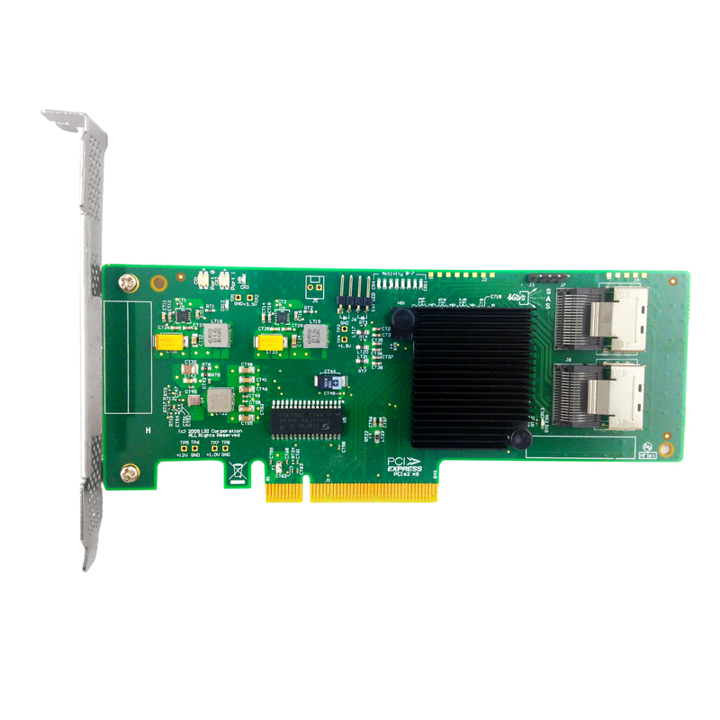 LSI OEM SATA SAS LSI 9211 8i LSI00194 8port 6Gb s PCI Express 2 0 RAID
