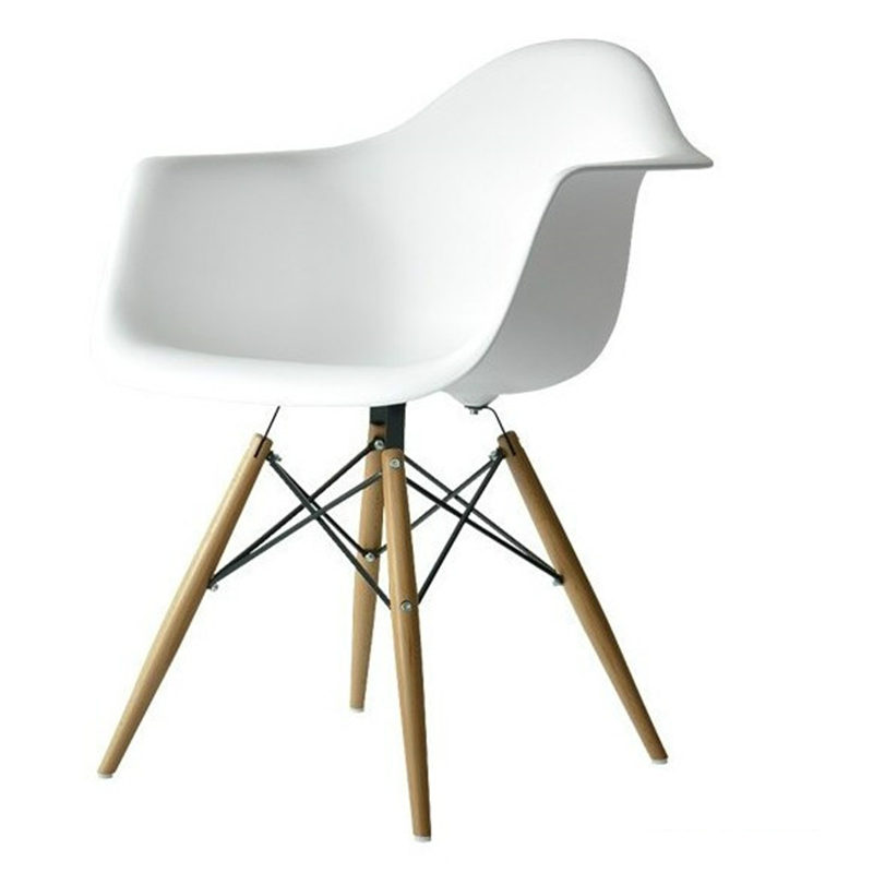 Modern Simple Dining Chair Chaise Dining Room Furniture Armchair Europe Plastic Wood Folding Chairs Household Coffee Sofas Home