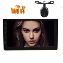 Car 2 din with Capacitive screen HeadUnit Android 6 0 Car NO DVD Player GPS Navigation