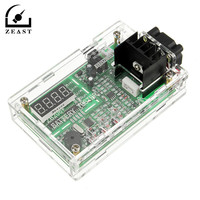 12V Multi Function Battery Capacity Internal Resistance Tester 18650 Battery Tester With Acrylic Shell Fan Red Digital ZB206