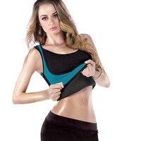 Neoprene Ultra Latex Corset Top Sweat Vest Sauna Hot Body Shaper Women S Slimming Waist Trainer