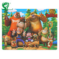 60 pcs Wooden Puzzles Board Jigsaw Cartoon Kids Toys Toddlers Intellective Educational Toys for Children