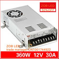 360W LED Switching Power Supply,85-265AC input,12V 30A,For LED Strip light, power suply 12V  Output