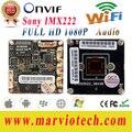 Placas de 2MP Full HD CCTV Câmera IP 1080 P wi-fi Módulo DIY Seu Próprio Sistema de CCTV de Vigilância De Segurança De Vídeo sem fio Onvif