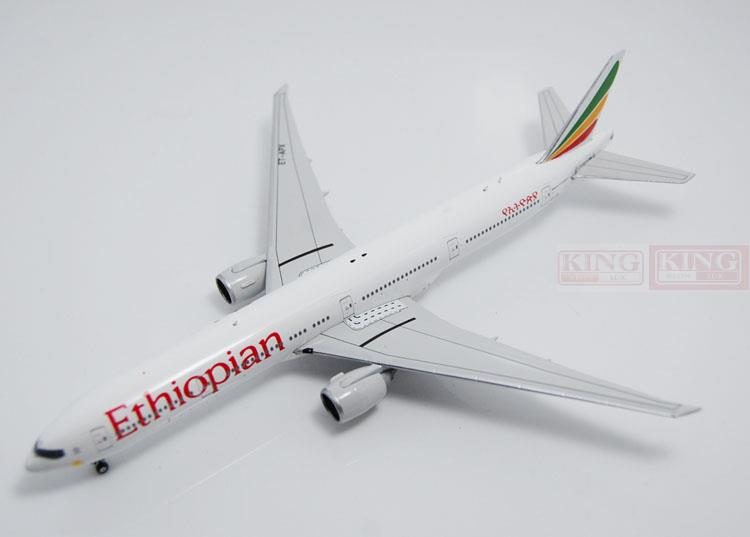 10881* Phoenix Ethiopia Airlines ET-APX 1:400 B777-300ER commercial jetliners plane model hobby spike wings xx4502 jc turkey airlines b777 300er san francisco 1 400 commercial jetliners plane model hobby