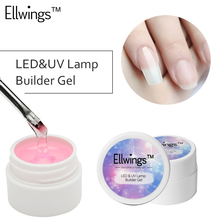 Ellwings Builder Gel for Nail Extensions Finger Extension UV Gel Polish Forms for Nail Extension Nail Art Varnish