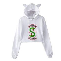 Sudaderas Mujer 2018 Riverdale Printing Sweatshirt Harajuku Fashion Hoodies Plus Size Streetwear Sudadera Mujer Hoodies Women 1