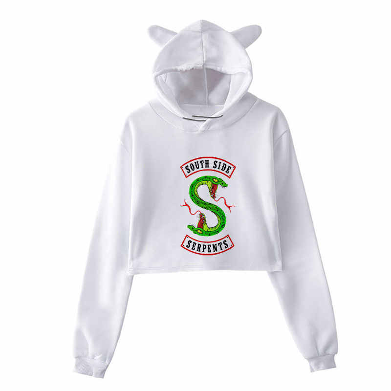 Sudaderas Mujer 2018 Riverdale Printing Sweatshirt Harajuku Fashion Hoodies Plus Size Streetwear Sudadera Mujer Hoodies Women