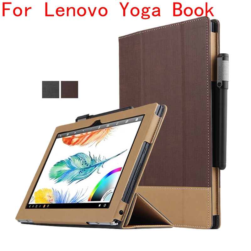 sports shoes 06ad9 26639 Case for Lenovo Yoga Book 10.1, GARUNK Filp Magnetic Patchwork ...