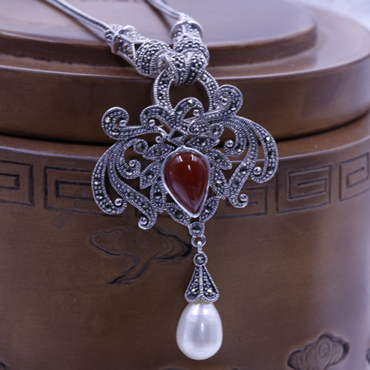 The new S925 Ishihara Juyi Pendant in Sterling Silver with natural wholesale manufacturers
