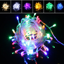 Wedding Decoration 10m 100 LED Light String Lamp Birthday Bachelorette Party Supplies Decoration. Q