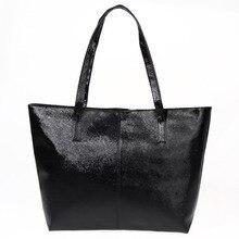 Высокое качество Повседневное Для женщин сумка Мода Дизайн Женская кожаная обувь сумки большой Ёмкость Tote сплошной Обувь для девочек Сумки с короткими ручками