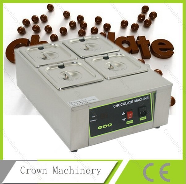 8kg Capacity Electric Chocolate melter chocolate tempering machine