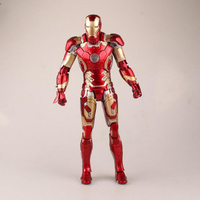 Action Figure Iron Man The Avengers MK43 PVC Model collection Toy 28cm 1/6 Ironman toys figures gift