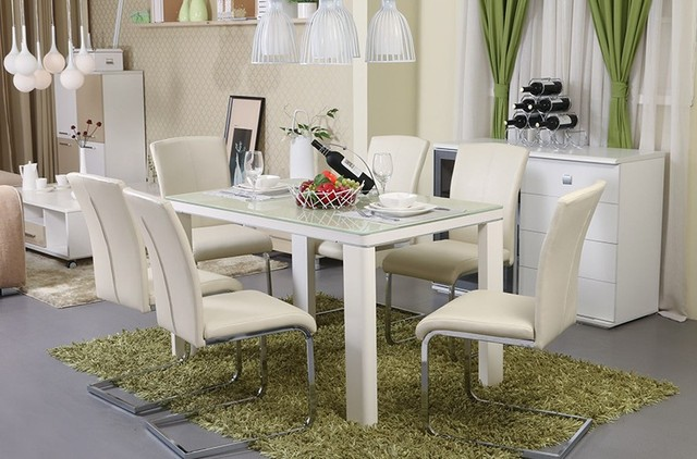MYBESTFURN Modern Tables Chairs Best Leather Recliner Chair Leather Bar  Chairs Cafe Table Chair 2015 New