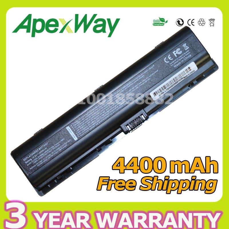 Apexway Laptop battery for HP Presario V3000 V6000 A900 C700 F500 F700 436281-241 452057-001 462337-001 HSTNN-DB42 HSTNN-LB42