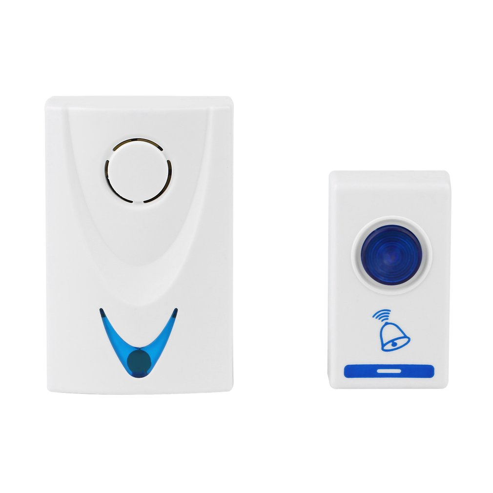 Battery LED Wireless Chime 32 Tune Songs Door Bell, Doorbell+ Wireles Remote Control --M25