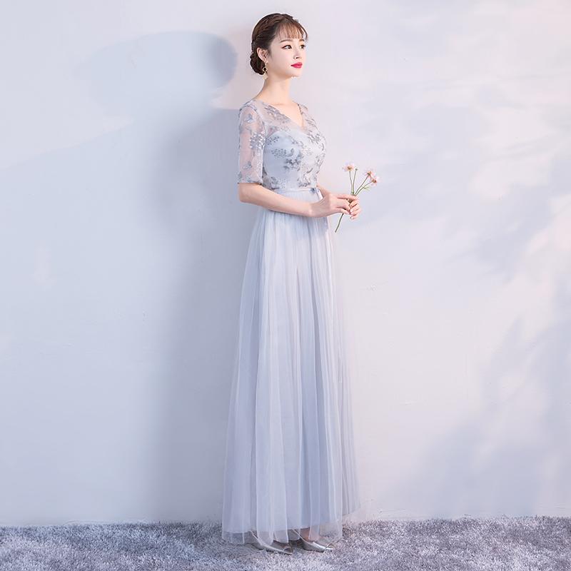 فستان الإمبراطورية خصم وصيفه 9