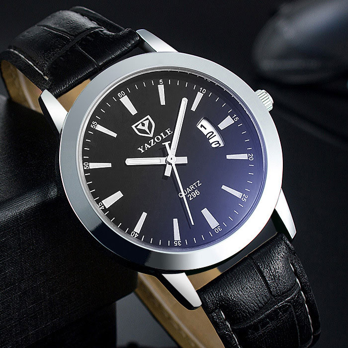 YAZOLE Date Quartz Watch Men Watches Top Brand Luxury Famous Business Wristwatches For Man Male Clock Hodinky Relogio Masculino mens watches top brand luxury yazole famous wristwatches male clock quartz watch quartz whatch relogio masculino reloj hombre c