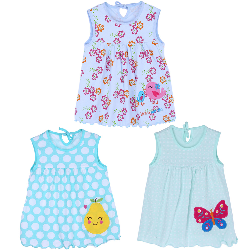 0-2Y New Baby Girl Clothes Dress Fashion Pure Cotton Cartoon Girls Clothes Baby Sleeveless Dress Kids Clothes Girls
