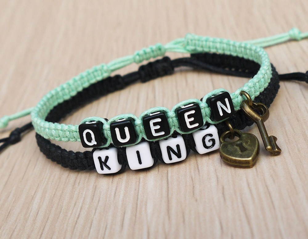 king and queen bracelets