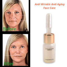 7/226/547/1119pcs Producten Magische Anti Aging Anti Rimpel Vloeistof Lift Foundation crème Argireline Hyaluronzuur zuur Serum(China)