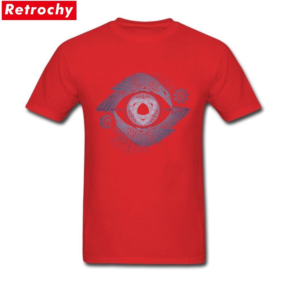 488a42d6 US $12.54 43% OFF|Vikings t shirt men 2019 History ODIN'S EYE T Shirt Men  and Women Tv Show Tee Large Size S XXXL-in T-Shirts from Men's Clothing on  ...