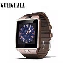 Gutighala dz09 Esporte relógio Inteligente Sync Notifier Suporte Sim Card Conectividade Bluetooth Apple iphone Android Phone homens Smartwatch