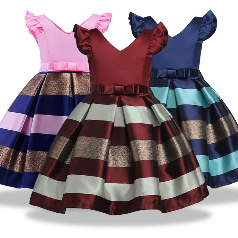 3-11 year Children Clothing Christmas clothes Kids girl Princess Dress Toddler Girl birt ...