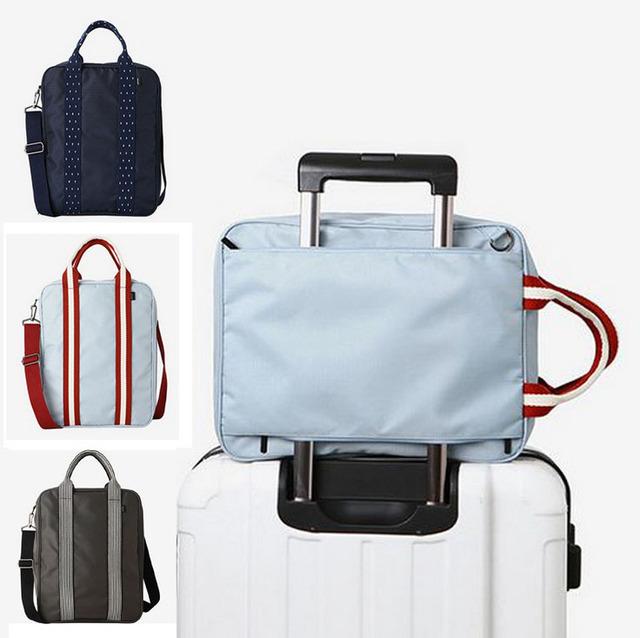 2017 nuevo de Alta capacidad de equipaje bolsas de viaje bolsa de equipaje impermeable sólido 4 estilo puede elegir