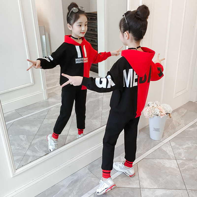 Girls\u0027 sweater 2019 spring new style children\u0027s clothing