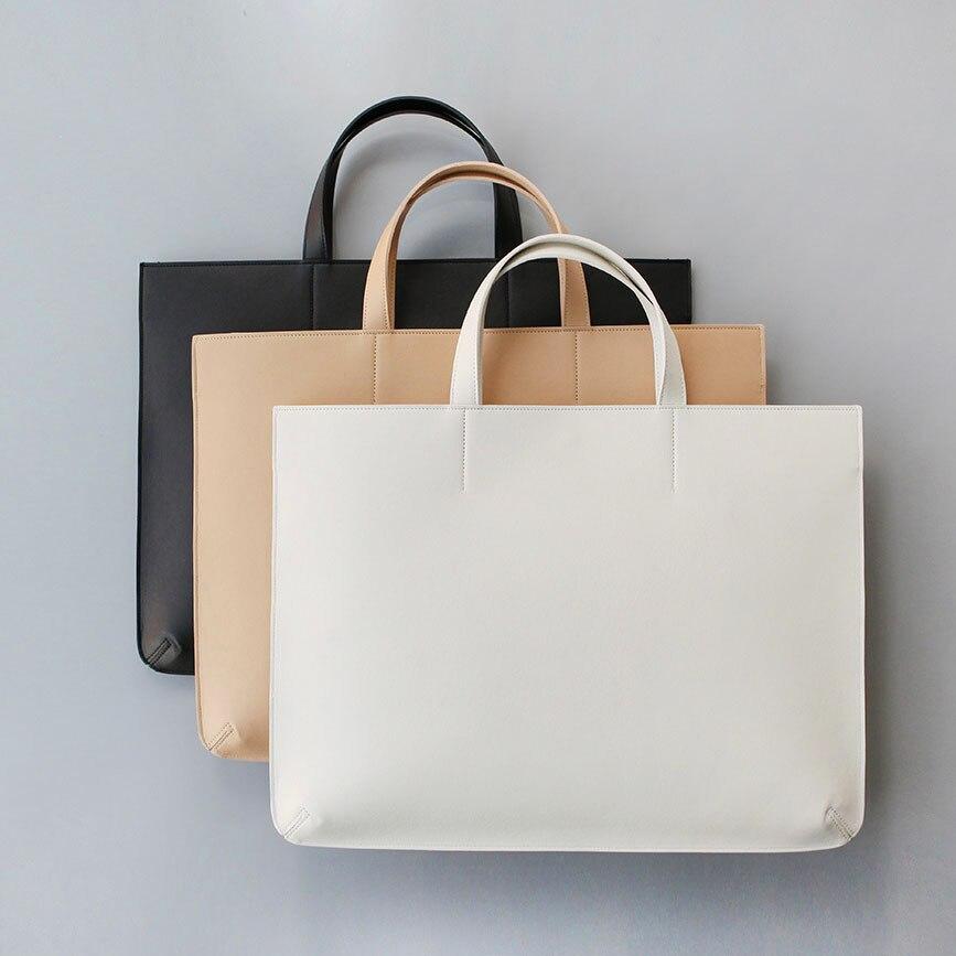 Hand Bags Cartable Femme Office Bags for Women Briefcase Laptop Bag Female Handbag Shoulder Bags Simple Fashion for Woman Lady|fashion shoulder bags|hand bag|shoulder bags - title=