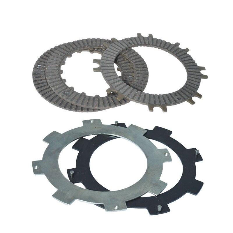 Комплект фрикционных пластин сцепления высокого качества, 3 шт. + 2 шт. для DY100 C110 C70 70cc 100cc 110cc, трехколесный велосипед-внедорожник