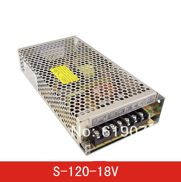 120W 18V Single Output Switching power supply for LED Strip light AC to DC ac 85v 265v to 20 38v 600ma power supply driver adapter for led light lamp