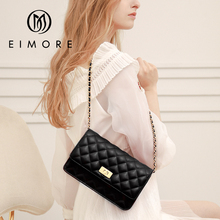 EIMORE Handbags Women Leather Shoulder Bag  For Women Small Crossbody Messenger Bag Ladies Fashion Tote Bags For Women